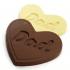 Dad Heart Shaped Chocolate Bar