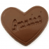 Grandad Heart Shaped Chocolate Bar
