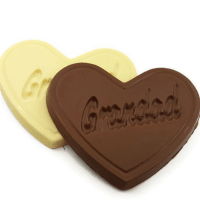 Grandad Heart Shaped Chocolate Bar