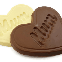 Mum Heart Shaped Chocolate Bar