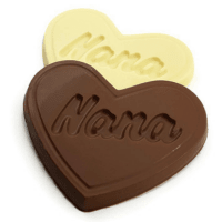 Nana Heart Shaped Chocolate Bar