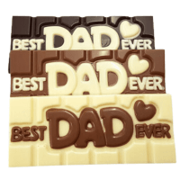 Best Dad Ever Chocolate Bar