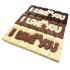 I Love You Chocolate Bar