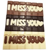 I Miss You Chocolate Bar