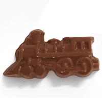 Milk Chocolate steam locomotive Bar