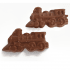 Milk Chocolate steam locomotive Bar