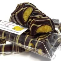 Chocolate Bar filled with Lemon Fudge
