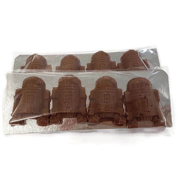 Android Robot Sci-Fi Chocolates - small 4Pk