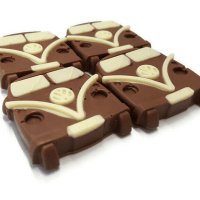Volkswagon Camper Chocolate Bars - 4pk