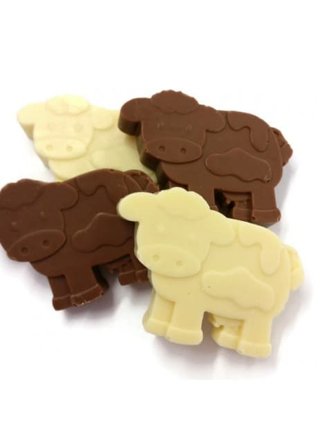 Chocolate Dairy Cows ~ 4pk