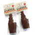 Bunny Butts Hot Chocolate Stirrer