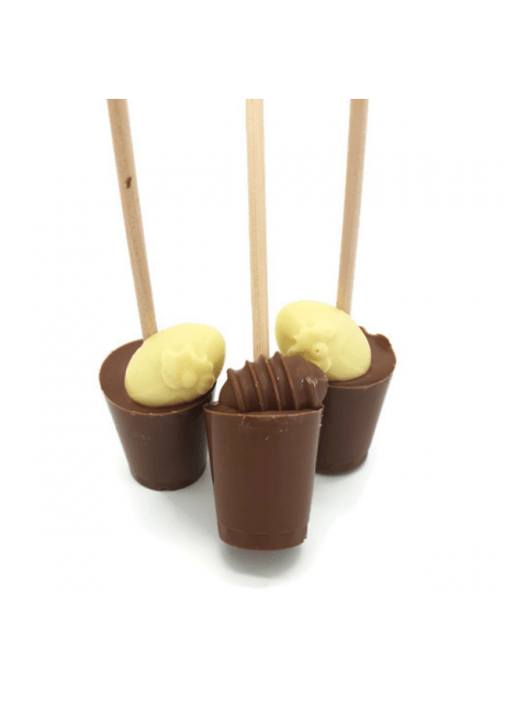Egg Hot Chocolate Stirrer