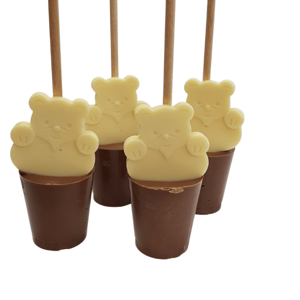 Teddy Bear Hot Chocolate Stirrer