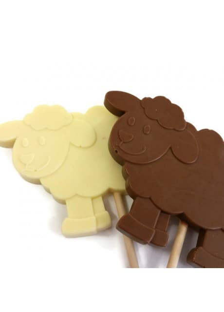Chocolate-Sheep-lollipop-Large