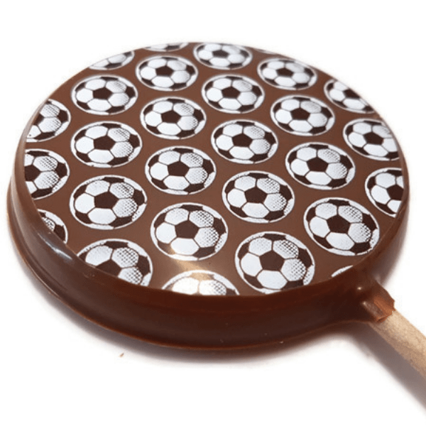 Football Chocolate Lolly
