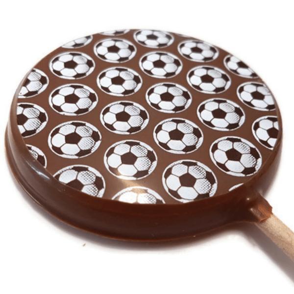 Football Chocolate Lolly