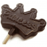 Chocolate Princess Lollipop