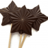 Chocolate Star Lolly