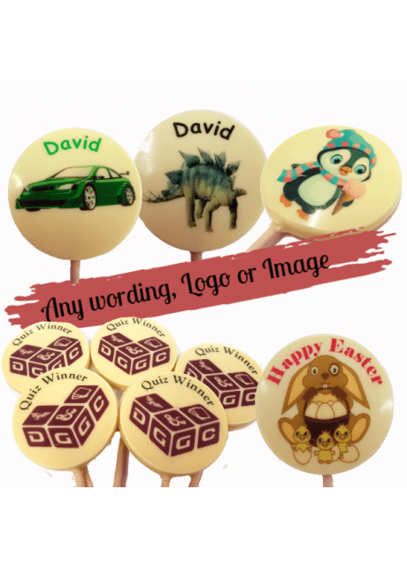 Personalised Round Lolly