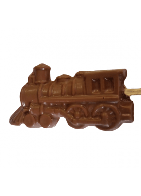 Chocolate steam locomotive Lollipop (Large)