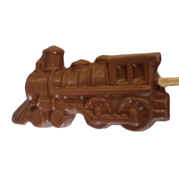 Steam locomotive Chocolate Lolly (Large)