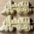Chocolate steam locomotive Lollipop (Large)