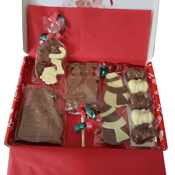 Christmas Chocolate Novelty Gift Box