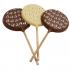 Belgian Chocolate Reindeer Lollipop