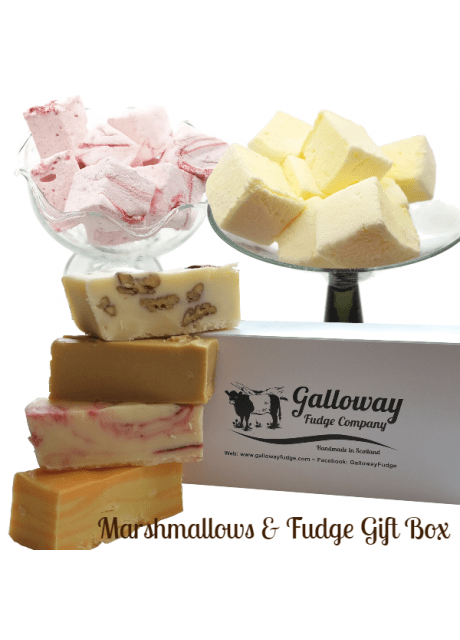 'KEEP YOUR SPIRITS UP' Marshmallow & Fudge Deal (with free surprise gift)