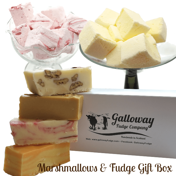 'KEEP YOUR SPIRITS UP' Marshmallow & Fudge Deal
