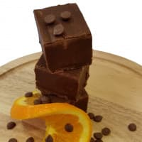 Juicy Chocolate Orange Fudge