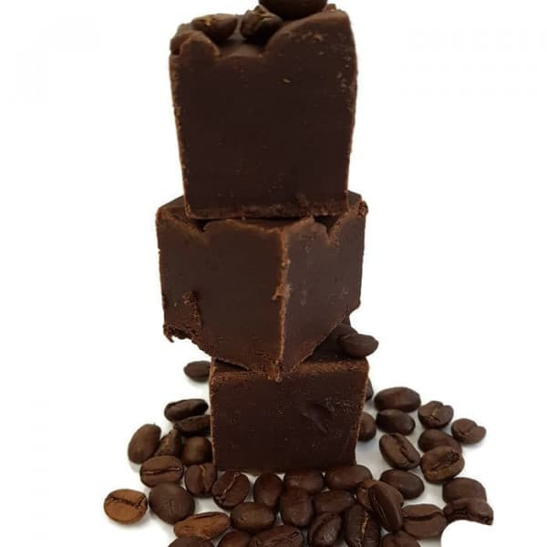 Dark Espresso Coffee Fudge