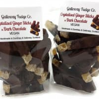 Delicious Ginger dipped in rich dark Belgian chocolate - 140g