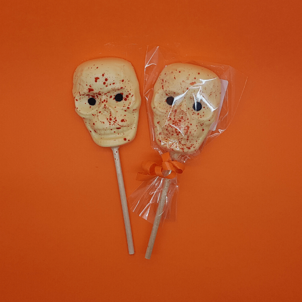 Blood Scattered Skull Lolly