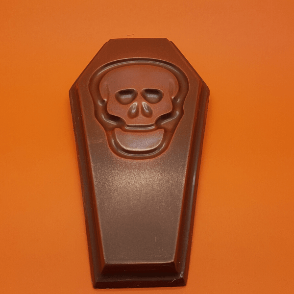 Skull Milk Chocolate Coffin Bar