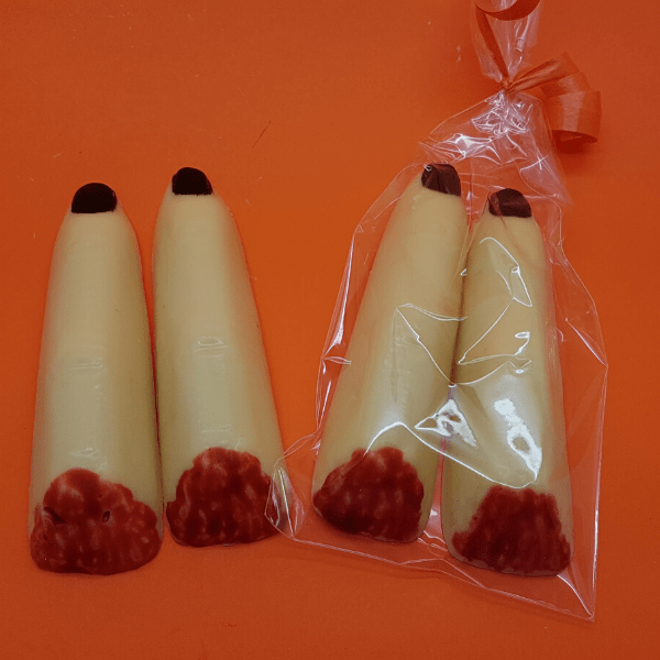 Solid Chocolate Witches Fingers