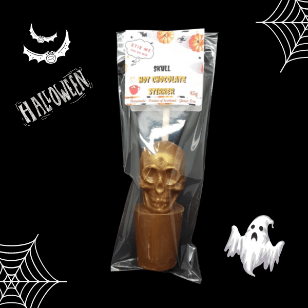 Skull Hot chocolate Stirrer
