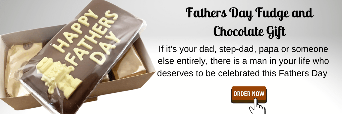 Fathers Day Fudge and Chocolate Gift