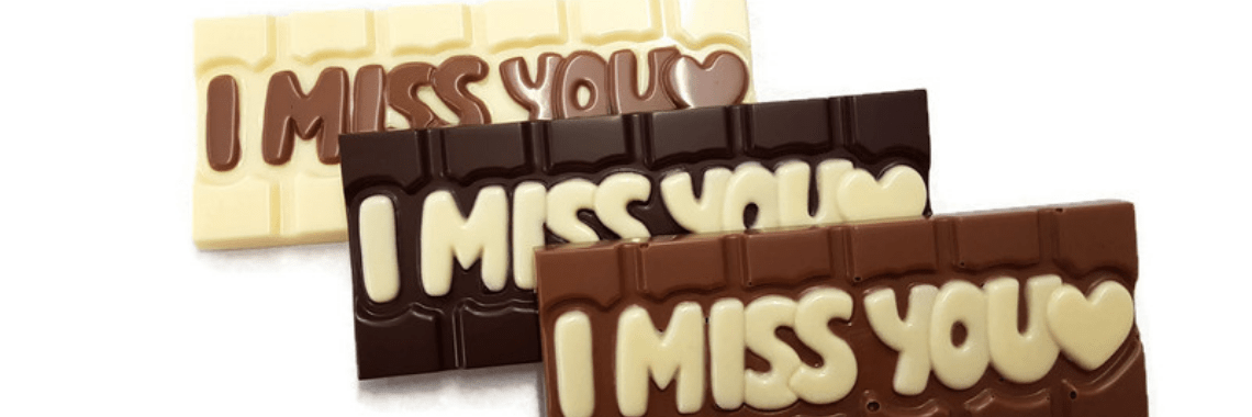 Say It with Chocolate Bars