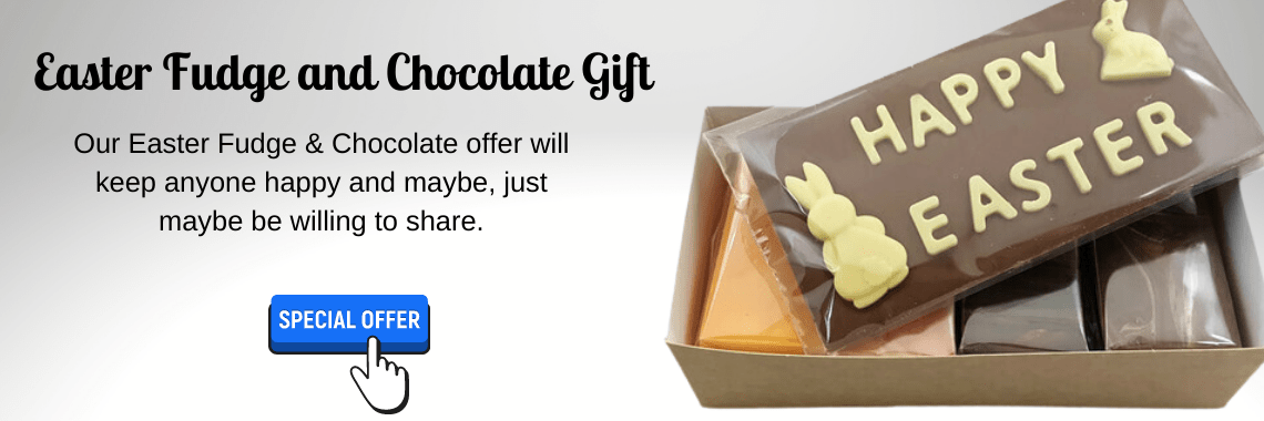 Easter Fudge & Chocolate Gift