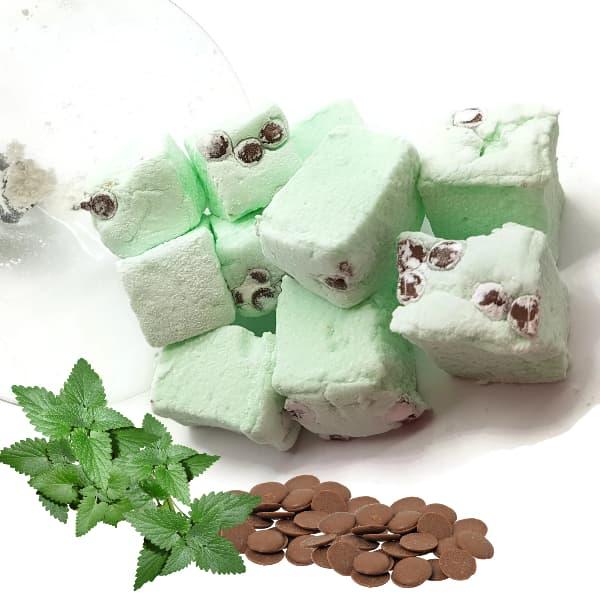 Choc Chip Mint Marshmallows