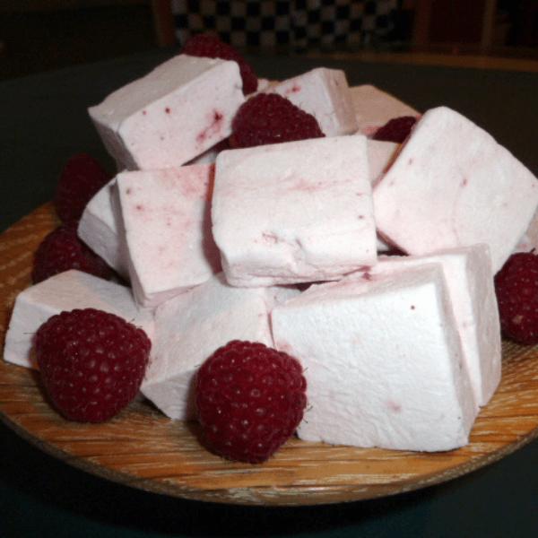 Raspberry Delight Marshmallows