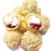 Raspberry Mallow Truffles