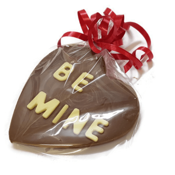 Be Mine Heart Chocolate Bar