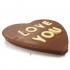 Love You Heart Chocolate Bar