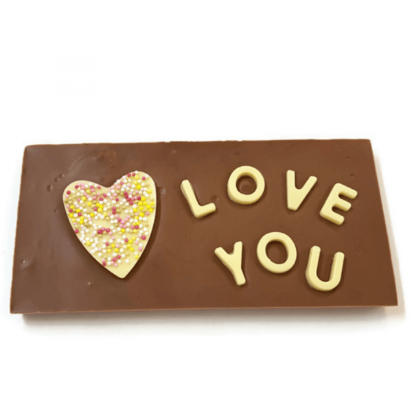 Love You! Chocolate Bar