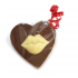 Lips Heart Chocolate Bar