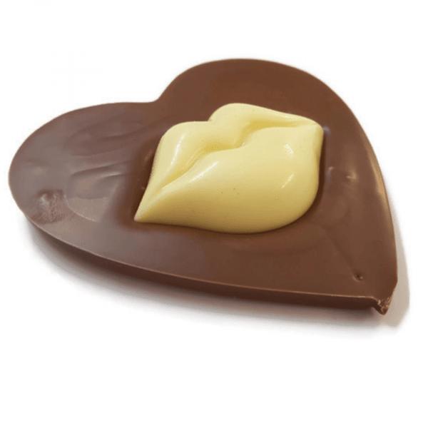Lips Heart Chocolate Bar