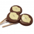 Kissing Lips Chocolate Lolly